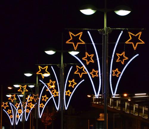 Weihnachtsbeleuchtung Frutiger Display Ag