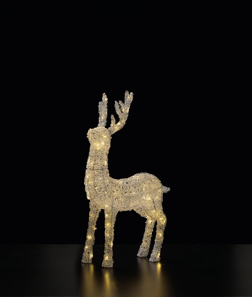 Led Weihnachtsbeleuchtung Rentier.Rentier Sven Frutiger Display Ag Dekorationskonzept