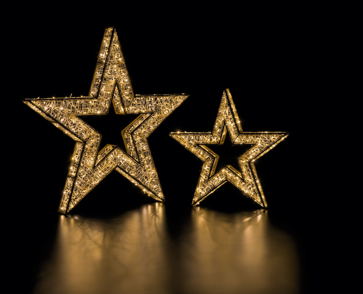 3d Weihnachtsbeleuchtung.Led 3d Stern 100 Frutiger Display Ag Dekorationskonzept