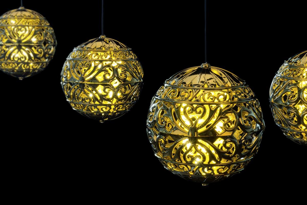 Led Weihnachtskugeln.Led Weihnachtskugeln Gold Frutiger Display Ag Dekorationskonzept