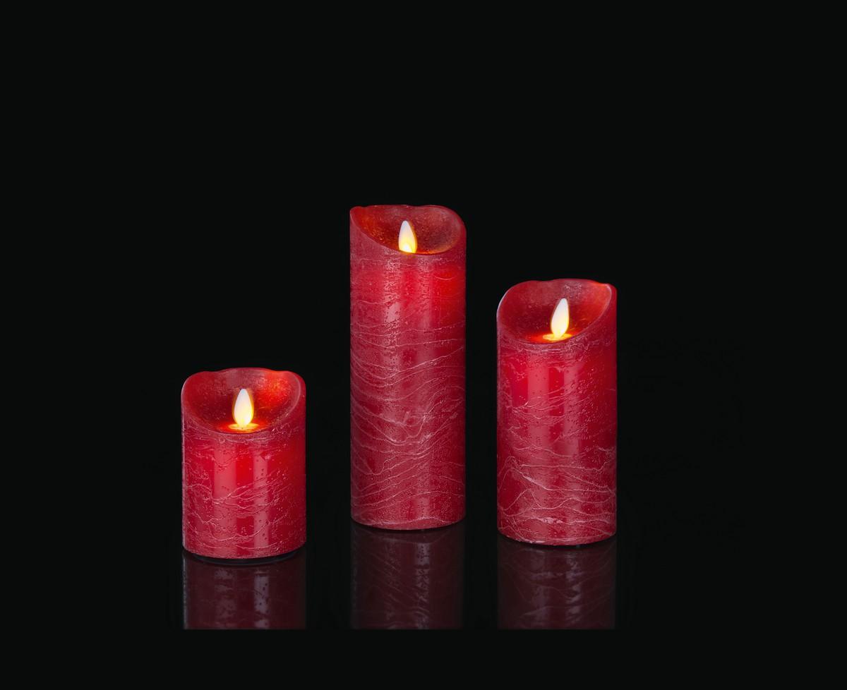Led Kerzen Weihnachtsbeleuchtung.Led Kerzen Set Rot Frutiger Display Ag Dekorationskonzept