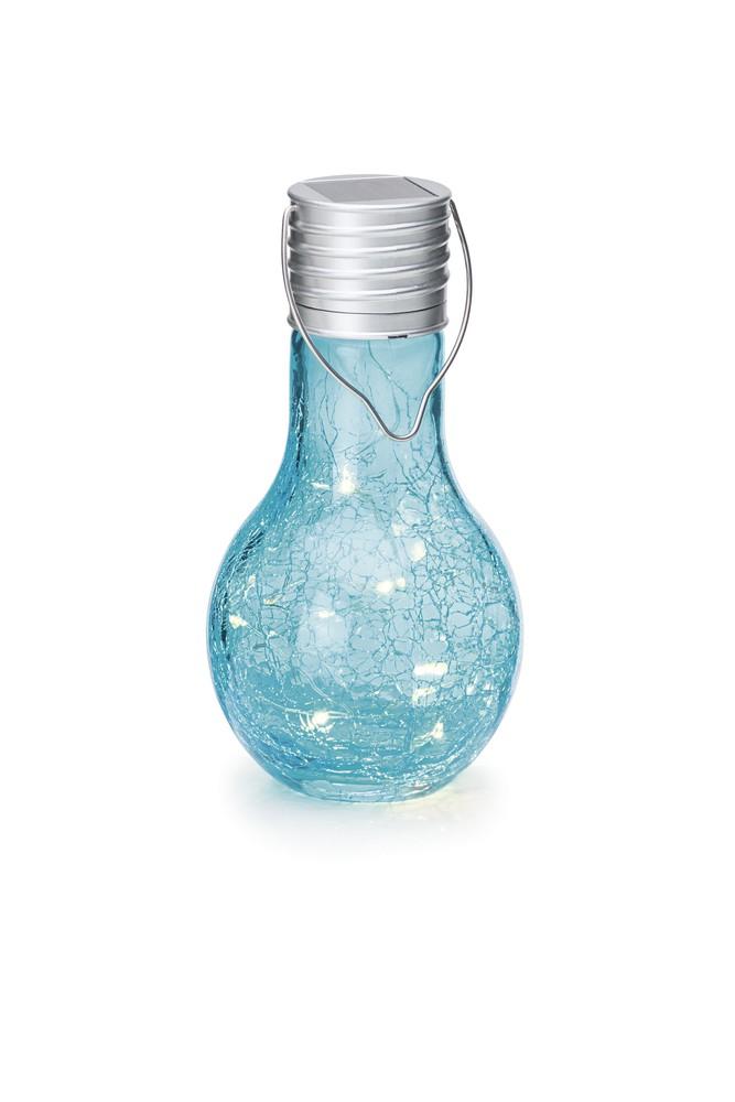 Weihnachtsbeleuchtung Tropfen.Solar Tropfen Blau Frutiger Display Ag Dekorationskonzept
